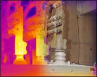 Thermographic surveys identify electrical hot spots